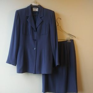 KASPER For A.S.L. 2 PCS Career Skirt Suit